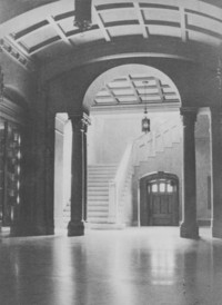 1928 Library: Main Hall
