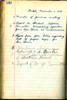 AS Board Minutes 1939-11