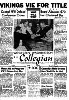 Western Washington Collegian - 1957 November 15