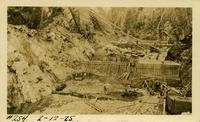 Lower Baker River dam construction 1925-02-12