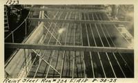 Lower Baker River dam construction 1925-08-30 Reinf Steel Run #204 El.418