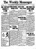 Weekly Messenger - 1921 April 8
