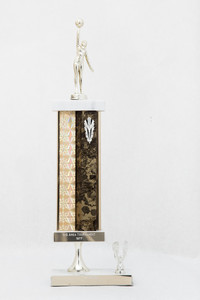 Basketball (Women's) Trophy: N-S Area Tournament 1st place (front), 1977