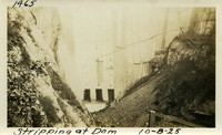 Lower Baker River dam construction 1925-10-08 Stripping at Dam