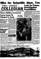 Western Washington Collegian - 1959 August 7