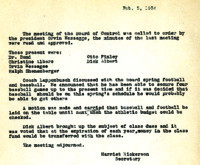 AS Board Minutes 1934-02