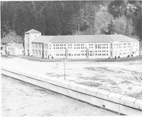1943 Campus School Building Southwest Facade From Roof Of Physical Education Building