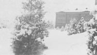 1926 Edens Hall in Snow