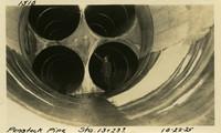 Lower Baker River dam construction 1925-10-22 Penstock Pipe, Sta 13+23.7