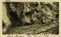 Lower Baker River dam construction 1925-06-16 Rock Surface Run #135 El.274