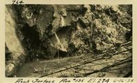 Lower Baker River dam construction 1925-06-16 Rock Surface Run #135 El.274
