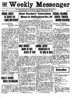 Weekly Messenger - 1921 September 30