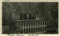 Lower Baker River dam construction 1925-08-28 Power House