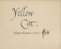 Yellow Cat