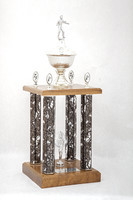 Tennis (Men's) Trophy: Evergreen Conference Champions, 1975