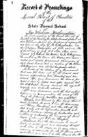 WWU Board minutes July 1895