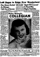 Western Washington Collegian - 1951 November 2