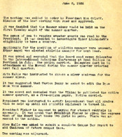 AS Board Minutes 1936-06