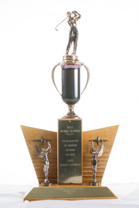 Golf (Men's) Trophy: Evergreen Conference Champions, NAIA District Champions, 1963