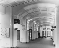 1973 Library: North Entrance