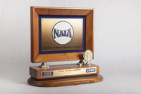 Volleyball (Women's) Trophy: NAIA National Championship 3rd place (front), 1990