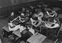 1942 Reading Time With Miss Channer (Class 6-C)