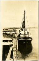 "Tugboat ""Modoc"" dockside"