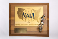 Cross-Country Running (Men's) Plaque: NAIA District 1 Champions, 1972