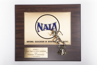 Track and Field (Men's) Plaque: NAIA District 1 Champions, 1992