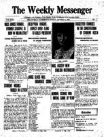 Weekly Messenger - 1922 October 6