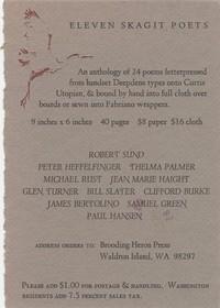 Eleven Poets Postcard