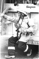 Oak Harbor Fireman at Work