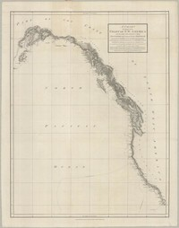 A Chart Showing Part of the Coast of the Coast of N.W. America with the Tracks of His Majesty's Sloop Discover and Armed Tender Chatham