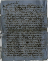 1857-12-15 Letter from M.L. Stangroom to his mother