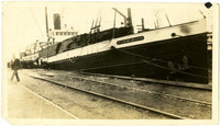 Pacific American Fisheries transport ship
