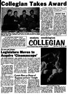 Western Washington Collegian - 1958 December 12