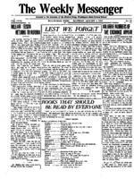 Weekly Messenger - 1919 January 4
