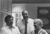 1983 Steve Inge, G. Robert Ross and Visitor