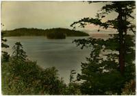 View looking toward Chuckanut Island in Chuckanut Bay
