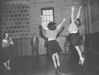 1948 Girls Playing Basketball