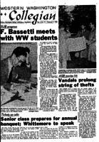 Western Washington Collegian - 1958 February 7