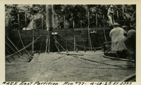 Lower Baker River dam construction 1925-04-18 East Partition Run #77 El.233.3