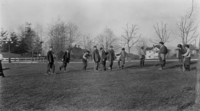1911 Training School Students Playing Jump Rope