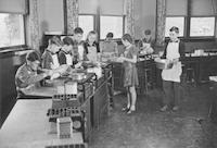 1942 Eighth Grade Cooking Class (Class 8-A)