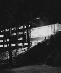 1960 Edens Hall North at Night
