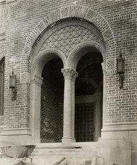 1928 Library: Main Entrance