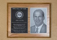 Hall of Fame Plaque: Jim Sterk, Football, Administration, Class of 2010