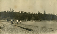 Women Walking on the Beach