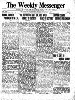 Weekly Messenger - 1919 November 7