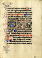 Dutch Book of Hours early 1400 [item 38460]